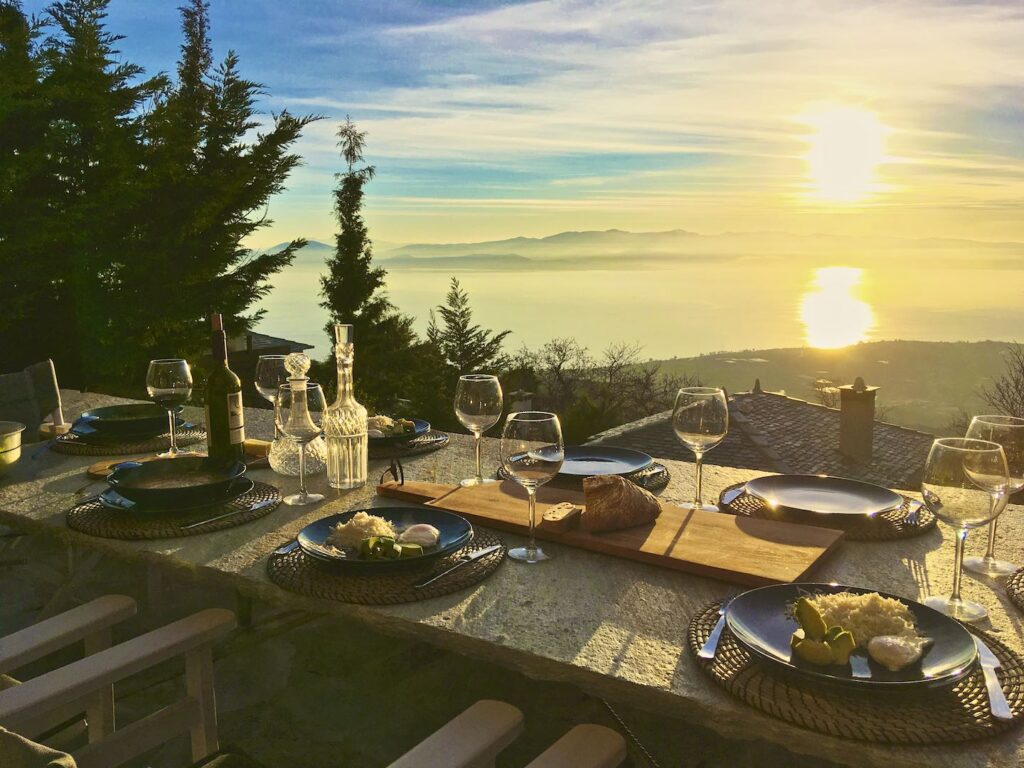 Pelion Homes private dining experience