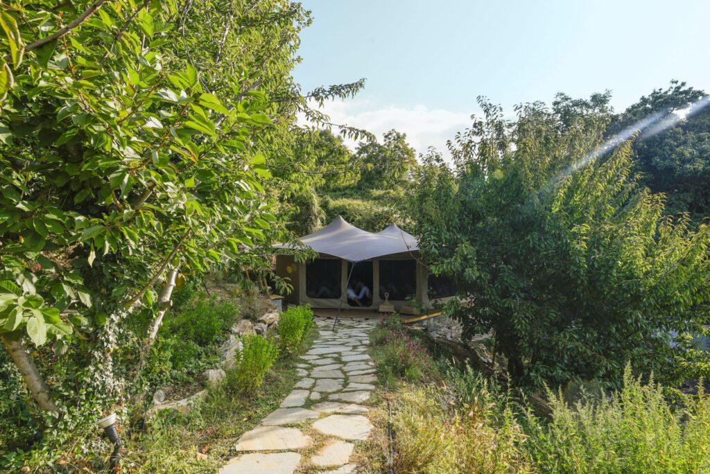 Pelion Homes Greek Yoga Retreat center